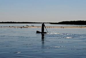 Local Fisherman, Zambia, by Georgina Smith